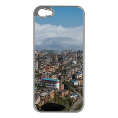 YUANYANG COUNTY Apple iPhone 5 Case (Silver)