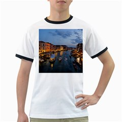 Venice Canal Ringer T Shirts