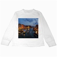 VENICE CANAL Kids Long Sleeve T-Shirts