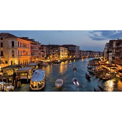 VENICE CANAL YOU ARE INVITED 3D Greeting Card (8x4)