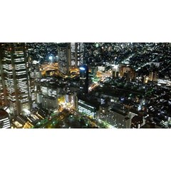 TOKYO NIGHT YOU ARE INVITED 3D Greeting Card (8x4)