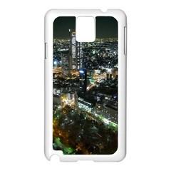 TOKYO NIGHT Samsung Galaxy Note 3 N9005 Case (White)