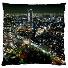 TOKYO NIGHT Standard Flano Cushion Cases (One Side)