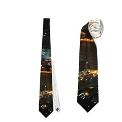 Seoul Night Lights Neckties (two Side)