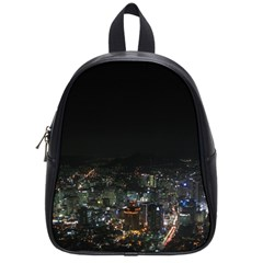 SEOUL NIGHT LIGHTS School Bags (Small)