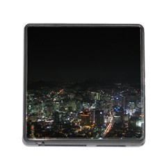 SEOUL NIGHT LIGHTS Memory Card Reader (Square)