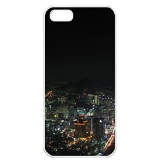 SEOUL NIGHT LIGHTS Apple iPhone 5 Seamless Case (White)
