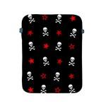 Stars, Skulls And Crossbones Apple iPad 2/3/4 Protective Soft Cases Front