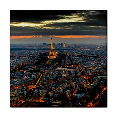 PARIS FROM ABOVE Face Towel