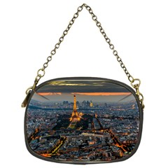 PARIS FROM ABOVE Chain Purses (Two Sides)