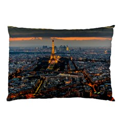 Paris From Above Pillow Cases