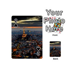 PARIS FROM ABOVE Playing Cards 54 (Mini)