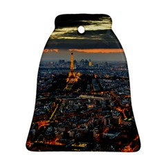 PARIS FROM ABOVE Bell Ornament (2 Sides)