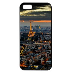 PARIS FROM ABOVE Apple iPhone 5 Seamless Case (Black)