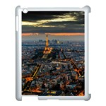PARIS FROM ABOVE Apple iPad 3/4 Case (White) Front