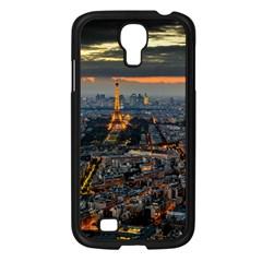 PARIS FROM ABOVE Samsung Galaxy S4 I9500/ I9505 Case (Black)