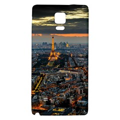 PARIS FROM ABOVE Galaxy Note 4 Back Case