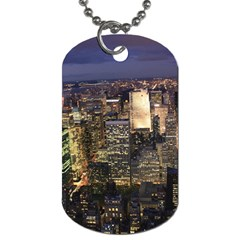 NEW YORK 1 Dog Tag (One Side)