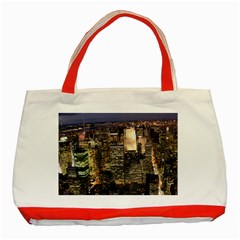 NEW YORK 1 Classic Tote Bag (Red)
