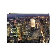 NEW YORK 1 Cosmetic Bag (Large)