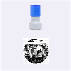 NEW YORK 1 Rubber Round Stamps (Small)
