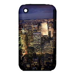 NEW YORK 1 Apple iPhone 3G/3GS Hardshell Case (PC+Silicone)