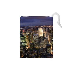 NEW YORK 1 Drawstring Pouches (Small)