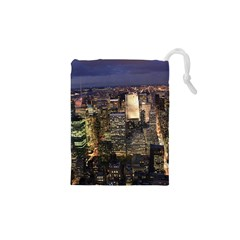 New York 1 Drawstring Pouches (xs)