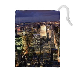 New York 1 Drawstring Pouches (extra Large)