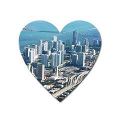 MIAMI Heart Magnet