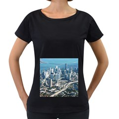 MIAMI Women s Loose-Fit T-Shirt (Black)