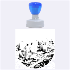 MIAMI Rubber Round Stamps (Large)
