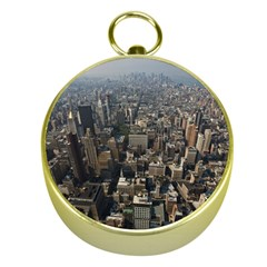 MANHATTAN 2 Gold Compasses
