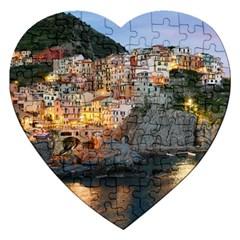 MANAROLA ITALY Jigsaw Puzzle (Heart)