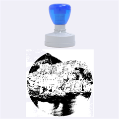 MANAROLA ITALY Rubber Round Stamps (Large)