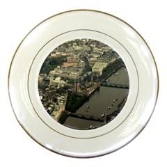 LONDON Porcelain Plates