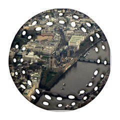 London Round Filigree Ornament (2side)