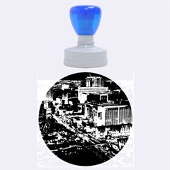 Las Vegas 2 Rubber Round Stamps (large)