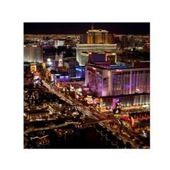 Las Vegas 2 Small Satin Scarf (square)