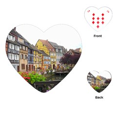 Colmar France Playing Cards (heart)
