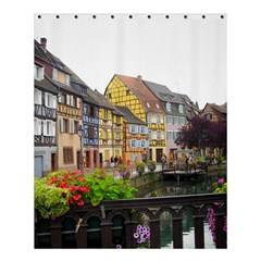 Colmar France Shower Curtain 60  X 72  (medium)