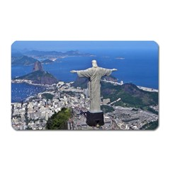 Christ On Corcovado Magnet (rectangular)
