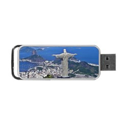 Christ On Corcovado Portable Usb Flash (two Sides)