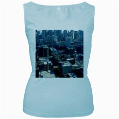 CHICAGO Women s Baby Blue Tank Tops