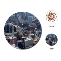 CHICAGO Playing Cards (Round)