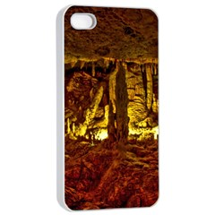 VOLCANO CAVE Apple iPhone 4/4s Seamless Case (White)