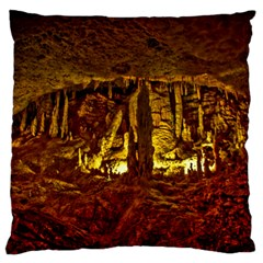 Volcano Cave Standard Flano Cushion Cases (two Sides)