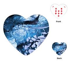 Svmnafellsjvkull Playing Cards (heart)
