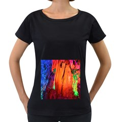 Reed Flute Caves 4 Women s Loose Fit T Shirt (black)