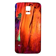Reed Flute Caves 4 Samsung Galaxy S5 Back Case (white)